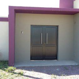 Puerta Doble Aluminio